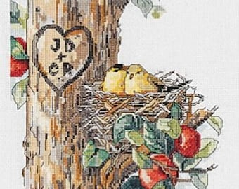 Birds Of A Feather Counted Cross Stitch Kit Janlynn 023-0569