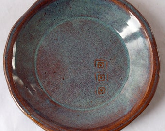 Pottery Plates, Stoneware Plates, Dinnerware, salad plate, Handmade plates, Pottery Dinnerware, ceramic dinner plates, plate set