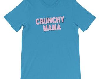 Crunchy Mama, Crunchy Mama Shirt, Crunchy Life, Organic Mama, Mama Bear, Breastfeeding Mama