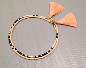 Beaded wrap Bracelet Seed Bead Wrap Beaded Bracelet Wrap Jewelry Seed Bead Jewelry Seed Beads