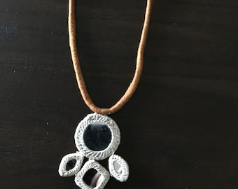 Morning Song Mirror Necklace