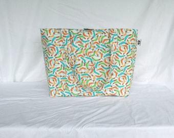 Boomerang Tote / Aboriginal / Designer Tote / Shopping Bag / Shopper Tote / Bag / Market Bag / Shoulder Bag / Boomerang / Australian Tote