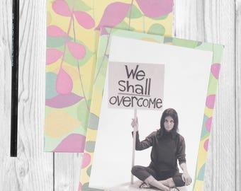 Writing journal, notebook, bullet journal, diary, sketchbook, blank  -- In This Together- Journal/Sketchbook