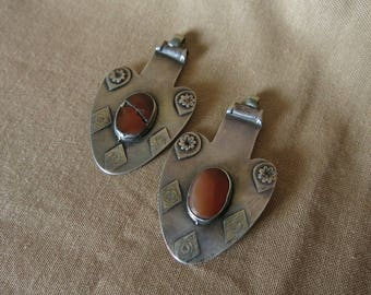 Turkmen Yomud silver asyk - pendant