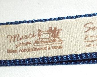 Key Ring Sewing blue, sewing, blue, key