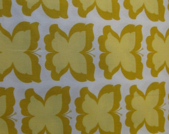 Happy Butterfly in Maize for Micheal Miller Fabrics 1 yard