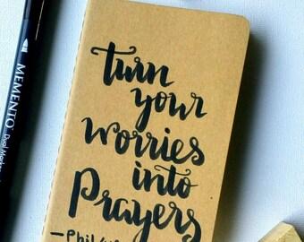 Notebook- Journal- Prayer Journal- Book