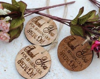 Personalized wedding favors!Rustic wedding favors!Wood rustic,wedding,favors,Christmas ornaments,Christmas favors.Thank you Wedding Favors