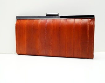 "Leather Ladies wallet, womens purse, womens wallet ""Linnea"" in brown, genuine leather, wallet, purse, portemonnaie, handmade, leather"