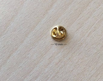 support brooch pins Gold Stick 10 mm