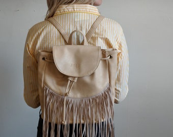 Vintage Fringe Backpack