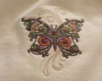 Steampunk Butterfly Sweatshirt
