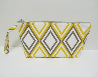 "Zipper Pouch/7.5""x14""x3""/Diamond"