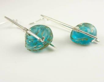 Handmade Sterling Silver Earrings - Prima Donna Beads