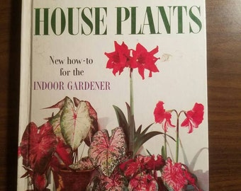 Vintage Better Homes and Gardens Houseplant book