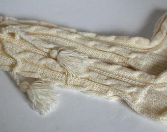 Long socks, Knee socks, knitted socks, Wool socks, Cable knit, leg warmers, knee-length socks, wool knee socks, gift for her, comfy socks
