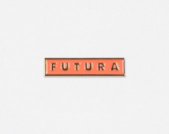 Futura Soft Enamel Lapel Pin