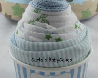 Ice Cream Sundae Baby Gift - Infant Bodysuit Cupcake - Baby Shower Gift - New Mom Gift - Unique baby gift - Baby shower decoration
