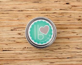 Organic Hard Lotion // Lavender Vanilla