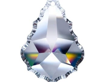 10 Clear Lead Crystal Asfour 50mm French Cut Chandelier Crystals Pendant Prisms