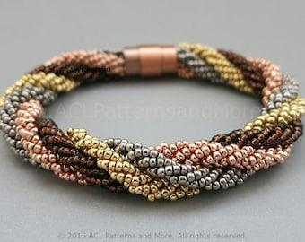 Cuatro Bracelet PDF Pattern