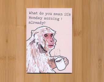 Coffee monkey