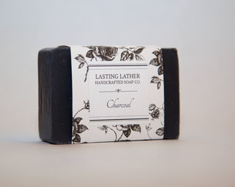 Charcoal Cold Process Soap, Unscented