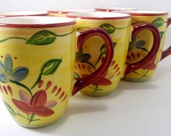 Set of 6 PFALTZGRAFF Palermo Coffee Cups Mugs
