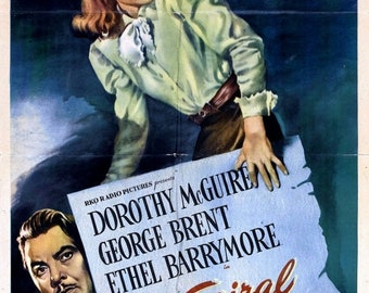 Spring Sales Event: The Spiral Staircase Movie POSTER (1945) Thriller/Drama