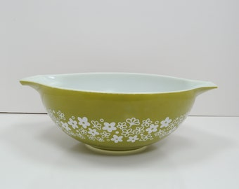 Pyrex Spring Blossom Crazy Daisy Cinderella Mixing Bowl 444