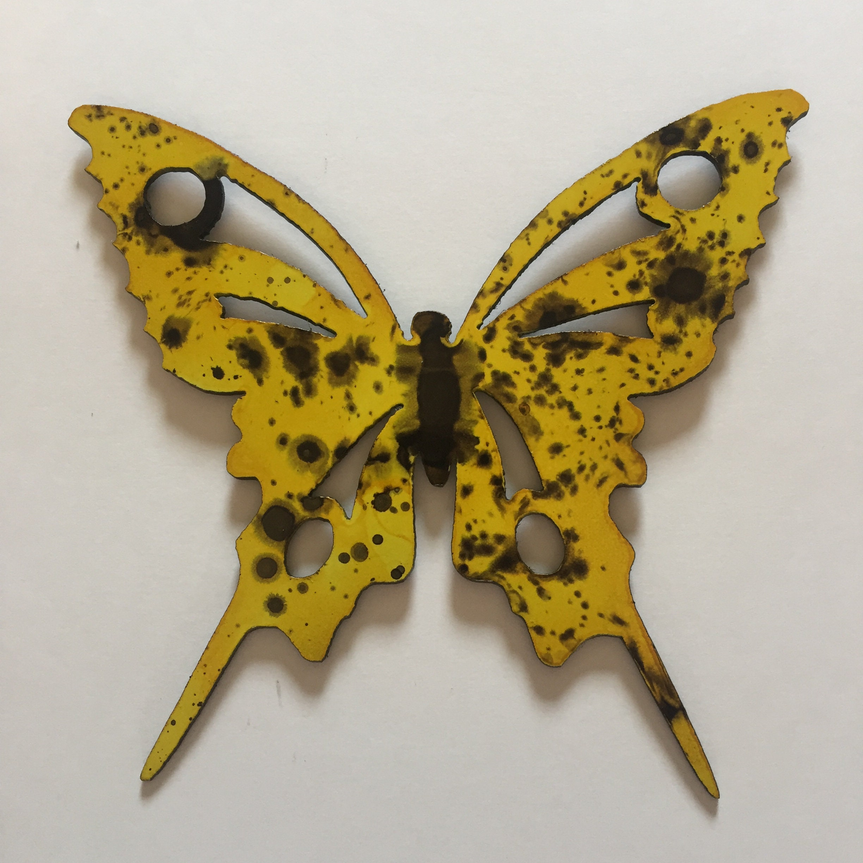 Outstanding Wall Decor Butterflies Metal Embellishment - The Wall ...