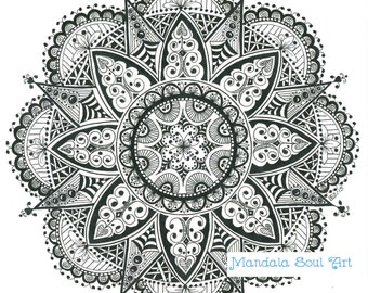 Mandala Soul Art My Girl