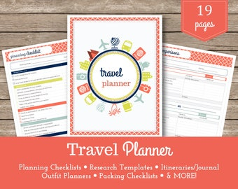 Travel Planner / Grace / Packing Lists / Vacation Planner / Holiday Planner / Travel Organizer / Travel Budget / Vacation Planning