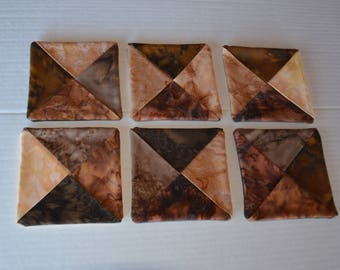 Handcrafted Coasters Set of 6