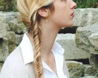 hexagon earrings, light grey earrings with hexagon shape, geometric earrings, dangle hexagon earrings, grey earrings, minimal earrings