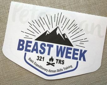9#, Air Force Card, Basic Training Card, Military Card, Beast Week Card, US Airman Card, Mountain is Waiting Card, Proud Air Force Mom Card