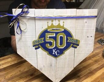 Kansas City Royals 50th Anniversary Decor