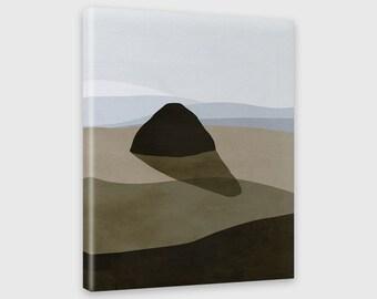 Beach Wall Canvas Art, Modern Art Canvas Print, Coastal Decor, Ocean, Seascape, Oregon Coast