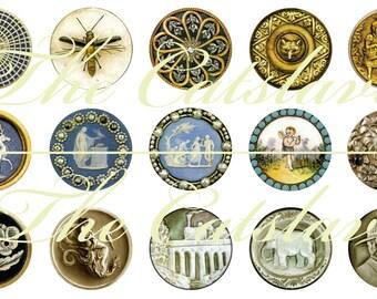 Antique Button Magnets Pins Gift Sets Party Favors