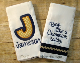 Irish Burp Cloth Combo
