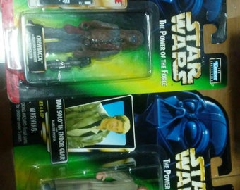 Han solo and chewbacca set