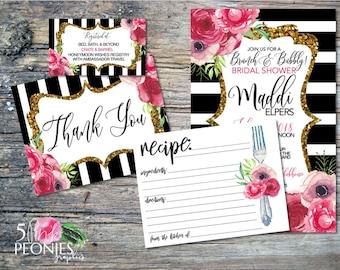 Custom Order Bridal Shower for Jane E.