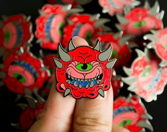 DOOM Cacodemon / Lapel Pin / Jewelry / Badge