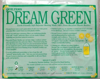 """Quilters Dream Crib Green Select Quilt Batting 60"""" x 46"""""""