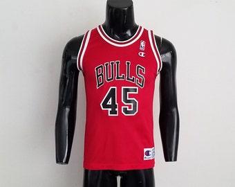 Vintage Michael Jordan #45 Champion Jersey Sz. 14 - 16 Youth
