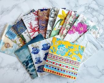 Decorative Napkins (Decoupage Journaling)