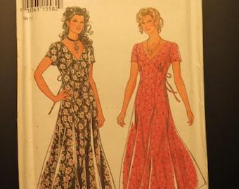 Misses' Sewing Pattern / New Look 6248 / Misses' Flared Dress  / Size 8 - 18 / Vintage / Uncut