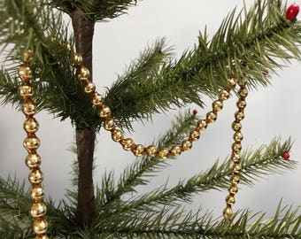 Vintage Glass Beaded Garland 1960s
