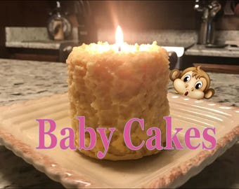 Baby Cakes Candles