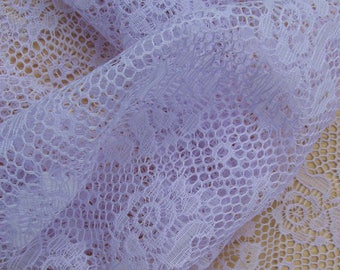 Lavender Lace Fabric | Lilac Fabric